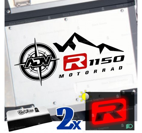 2pz Kit Adesivi Compatibili...